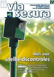 Via Secura 72 - Belgisch Instituut voor de Verkeersveiligheid