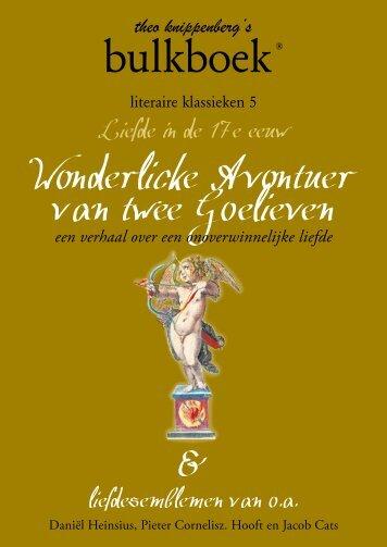 Liefde in de 17e eeuw - Bulkboek
