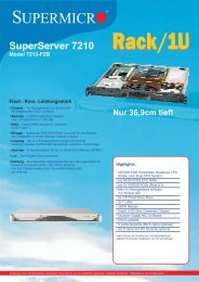 SuperServer 7210 Model 7213-F2B - novarion.com