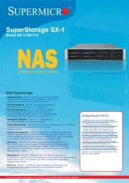Datenblatt SuperStorage - novarion.com