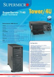 SuperServer 7140 Modell 7144-RT8B-M3 - novarion.com