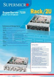 SuperServer 7220 Model 7221-RTQ8B-M3 - novarion.com