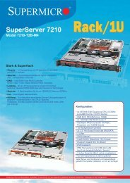 SuperServer 7210 - novarion.com