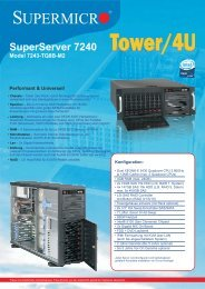 SuperServer 7240 - novarion.com