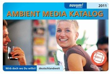 AMBIENT MEDIA KATALOG - Novum!