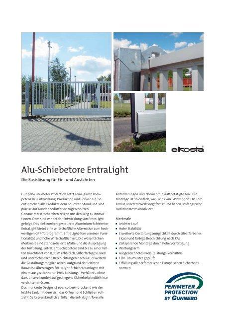 Alu-Schiebetore EntraLight - nowotnik-metall.de