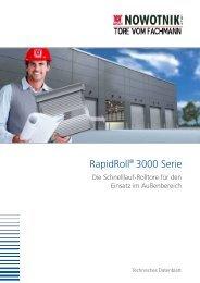 RapidRoll® 3000 Serie - nowotnik-metall.de