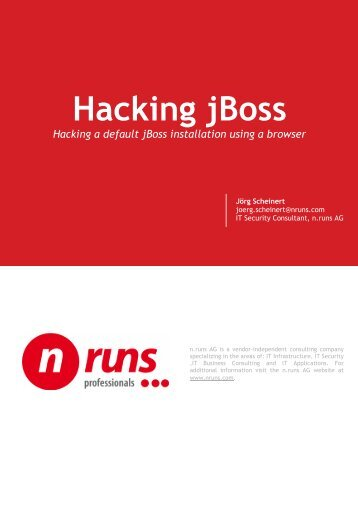Whitepaper-Hacking-jBoss-using-a-Browser.pdf - n.runs AG