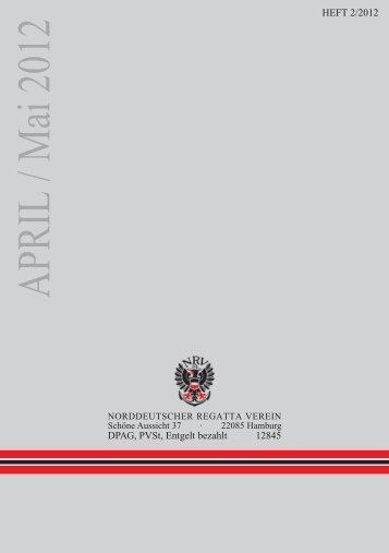 APRIL / Mai 2012 - NRV Norddeutscher Regatta Verein