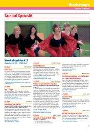 Tanz und Gymnastik - NTB