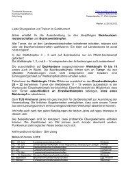 Liebe Übungsleiter und Trainer im Gerätturnen! Anbei erhaltet ... - NTB