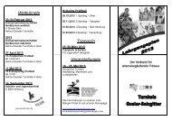Wettkämpfe Trampolin Veranstaltungen - NTB