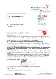 66. Kreissportfest in Loxstedt - Turnen - - NTB