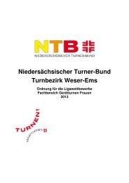 Weser-Ems_Ligaordnung 2013 - NTB
