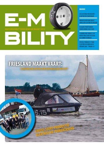 vaktijdschrift voor benelux maart 2012 - E-Mobility Magazine