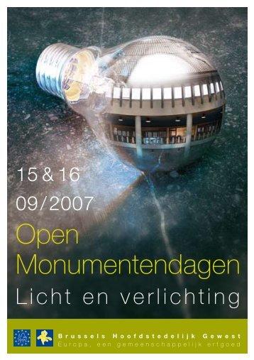 programmaboekje - Monumenten & Landschappen