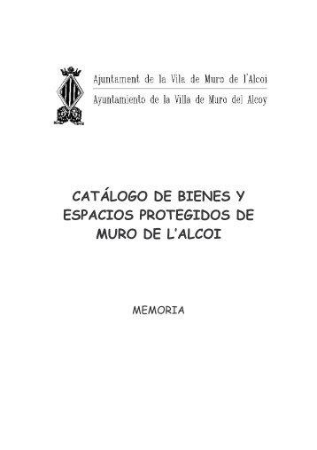 P.G.O.U. catàleg - Ajuntament de Muro