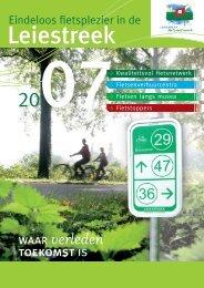 Eindeloos fietsplezier in de - Toerisme Leiestreek