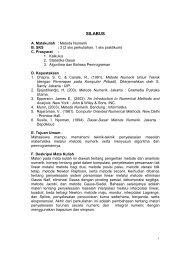 SILABUS - Direktori File UPI