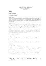 türkiye turizm coğrafyası - Webnode