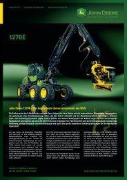 John Deere 1270E - NUHN GmbH & Co. KG