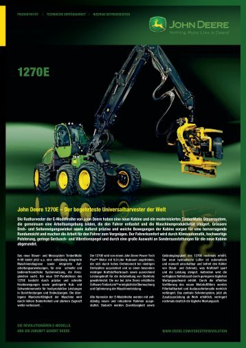 John Deere 1270E - NUHN GmbH & Co. KG