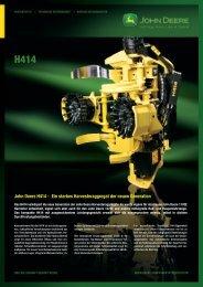 John Deere H414 - NUHN GmbH & Co. KG