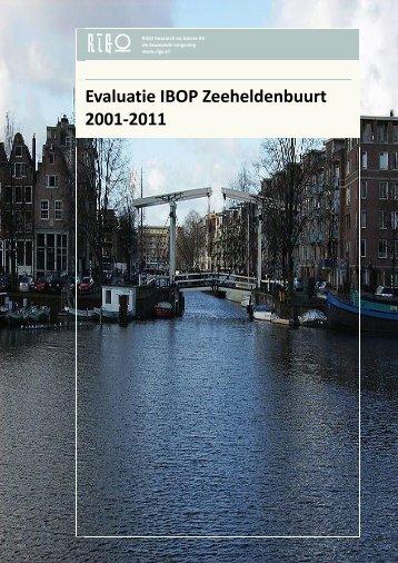 Evaluatie IBOP Zeeheldenbuurt 2011 - Stadsdeel West - Gemeente ...