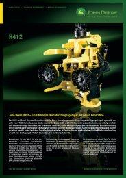 John Deere H412 - NUHN GmbH & Co. KG