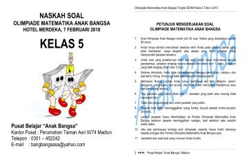 Soal Kelas 5.pdf - Anak Bangsa