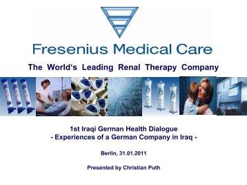 Fresenius Medical Care in Iraq - NuMOV