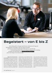 Begeistert von E bis Z - Nunier Consulting