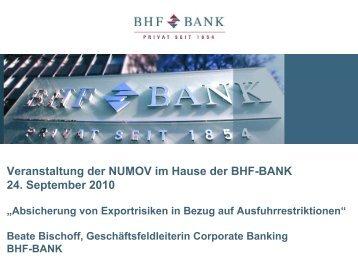 Absicherung von Exportrisiken_B. Bischoff - NuMOV