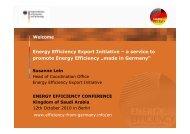 Susanne Lein Energy Efficiency export initiative ... - NuMOV