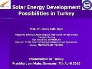 Solar Energy Development Possibilities In Turkey - NuMOV