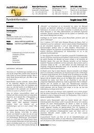 Info Januar 2008 1 1 - nutrition world group