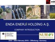 TUZLA Geothermal Power Plant - NuMOV