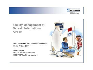 Facility Management at Bahrain International Airport - NuMOV
