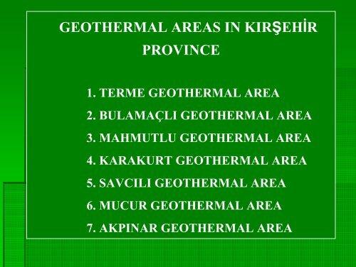wells drilled in terme geothermal area - NuMOV