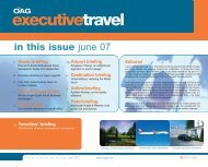 in this issue june 07 - OAG.com