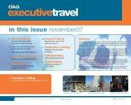 November issue - OAG.com