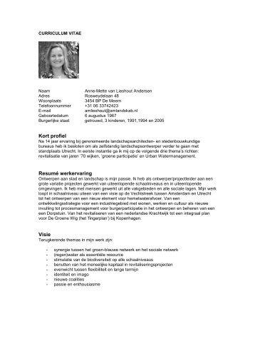 Curriculum Vitae Tijn Ponjee Blogbird