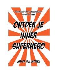 Het boek Ontdek je Inner Superhero - Lifehacking