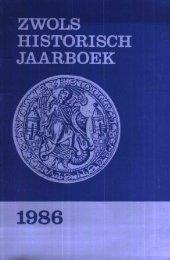 1986 JAARBOEK - Historisch Centrum Overijssel