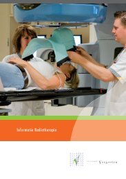 Informatie Radiotherapie - Instituut Verbeeten