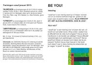 BE YOU! - Bureau Interculturele Communicatie