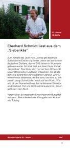 Jean Paul 2013 in Hof Jahresprogramm - Seite 5