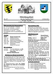 Aktuelles Mitteilungsblatt - in der Stadt Oberndorf am Neckar
