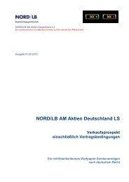VKP NORD-LB AM Aktien Deutschland LS 130201 _version 130201_x