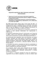 Simposium de Comercio.pdf - Universidad de Monterrey